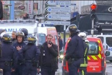 Scene incredibile surprinse de un ROMAN in timpul asaltului fortelor de ordine in Saint Denis