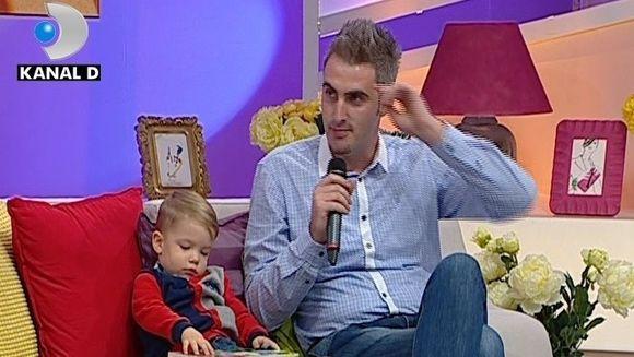 """""""E si frumos, si destept!"""" Alex, fiul lui Ernest a topit inimile domnisoarelor, la Teo Show"""