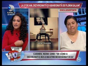 Gina si familia ei vor bani de la Florin Salam! Uite ce suma fabuloasa ii cer artistului pentru ca a dezvirginat-o!