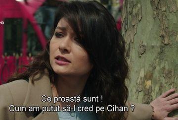 """Gulseren isi pierde increderea in Cihan! Acesta este din nou victima planurilor diabolice puse la cale chiar de tatal sau, azi, in """"Furtuna pe Bosfor"""", de la 20.00, la Kanal D"""