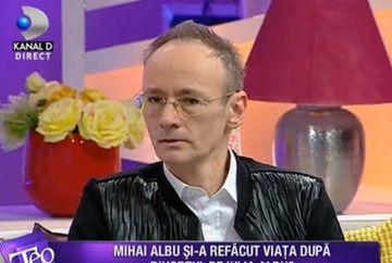 """Mihai Albu, declaratii in premiera: """"Sunt un barbat liber, divortat de aproape trei ani!"""""""