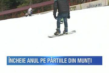 Vacanta de sfarsit de an a inceput pe schiuri in Maramures! La Cavnic, turistii au luat cu asalt partiile