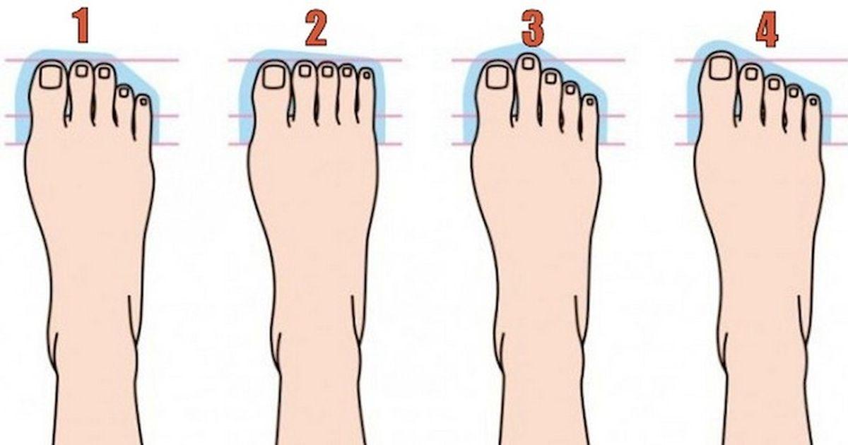 degetele picioarelor