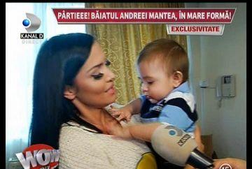 Andreea Mantea si fiul ei sunt cea mai frumoasa familie! Uite cum are grija de micutul David!