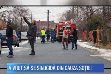 Au tras o spaima sora cu moartea! Localnicii dintr-o comuna buzoiana au iesit panicati in strada dupa ce vecinul lor a amenintat ca se arunca in aer