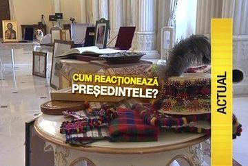 Sa tot fii presedinte! Klaus Iohannis a adunat suficiente cadouri cat sa umple o camera din Muzeul Cotroceni