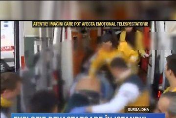 O explozie puternica a avut loc in centrul orasului Istanbul. 10 morti si 15 raniti au fost inregistrati pana la aceasta ora