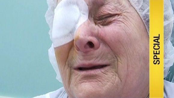 Tanti Viorica nu visa ca isi va recupera vreodata vederea. Impresionati de batranetea chinuita, cativa oameni cu suflet i-au facut un cadou nepretuit