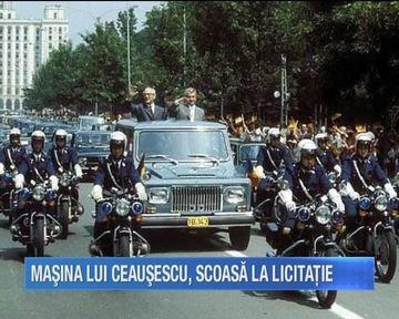 Masina Aro, folosita de Nicolae Ceausescu, este scoasa la licitatie de actualul proprietar
