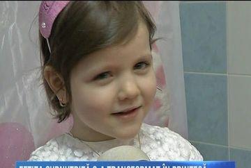 Nimeni n-ar putea s-o mai recunoasca pe Flori, fetita care era adusa in urma cu doi ani in coma la spitalul din Iasi! Micuta a implinit 6 ani si rade din tot sufletul