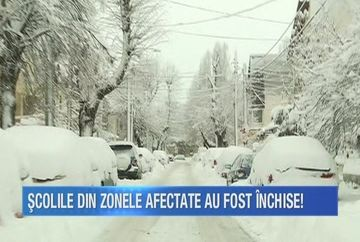 Au trecut doua zile de la ninsoarea care a ingropat Capitala in omat, dar strazile de cartier inca n-au cunoscut plugul utilajelor de deszapezire