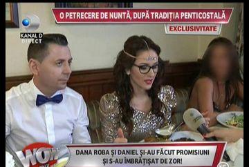 La petrecerea de nunta a Danei Roba nu a fost muzica, iar invitatii nu au baut alcool! Uite cum s-a distrat mirele si mireasa