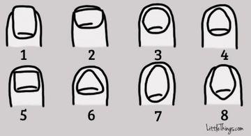 Ce forma au unghiile tale? Uite cum te tradeaza si ce spune asta despre tine