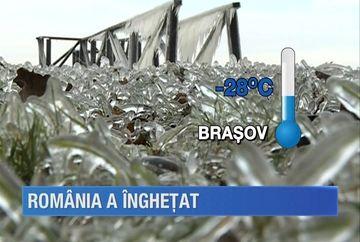 Au fost temperaturi de-a dreptul polare in Romania! Meteorologii spun ca a fost cea mai geroasa dimineata de 20 ianuarie din ultimii 55 de ani