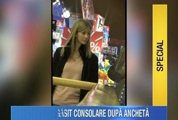 Irina Truica, direct la cumparaturi pentru copii dupa audierile DNA