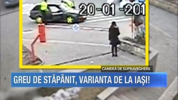Trei politisti nu au facut fata unui sofer tupeist care n-are pic de respect fata de lege! Iata ce au patit agentii de la circulatie