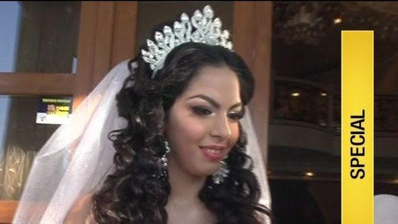 A promis ca va fi nunta secolului pentru fata ei si s-a tinut de cuvint. Sultana ii face petrecere imparateasca nepoatei sale