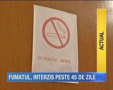 Judecatorii Curtii au decis: legea care interzice fumatul in spatiile publice respecta Constitutia!