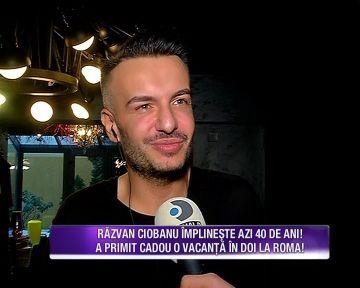 Razvan Ciobanu isi aniverseaza ziua de nastere! Uite ce cadou inedit dar care si-l doreste nespus de mult i-a facut Teo designerului