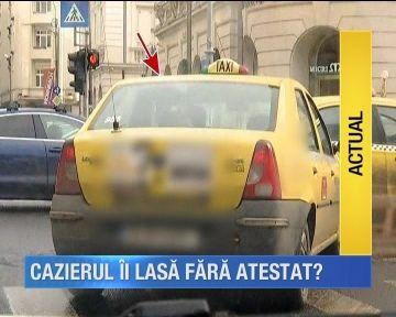 Se face curatenie printre taximetristi!