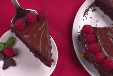 VIDEO! Tortul facut direct in tava, fara oua, lapte sau unt