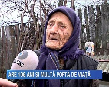 Lectie de viata de la tanti Anica! Batrana de 106 ani arata si se simte mai tanara ca niciodata. Uite ce secrete are!