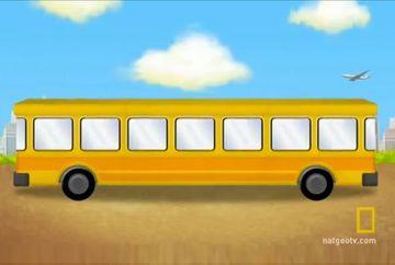 Te crezi mai destept ca un copil de clasa a doua? Majoritatea adultilor nu-si dau seama incotro merge autobuzul din imagine, tu poti?