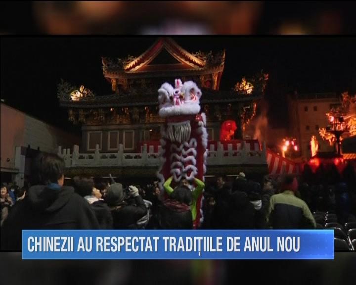 Chinezii din intreaga lume sarbatoresc prima zi din Anul Nou. Este vorba despre Anul Maimutei! Iata ce semnificatie are