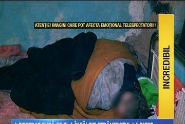 Strabunica lui Georgica, batrana care si-a salvat nepotul de gerul din grajd, a fost dusa la Spitalul Judetean Constanta