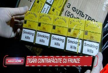 Frunzele de nuc si balega de cal, ingrediente in tigarile de contrabanda. Dezvaluirile socante ale agentilor de frontiera despre traficantii de tigari din Ucraina