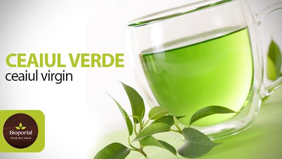 Efectele benefice pe care ceaiul verde asupra organismului uman