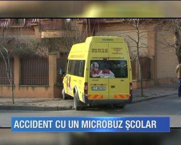 Drumul spre scoala s-a incheiat la spital pentru mai multi copii din Constanta. Microbuzul scolar a fost implicat intr-un grav accident