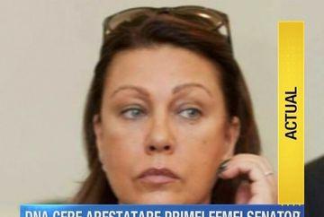 DNA cere retinerea si arestarea primei femei senator! Despre cine este vorba