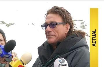 Din cluburile fierbinti ale Capitalei, Jean Claude Van Damme a ajuns, astazi, la peste 2 000 de metri altitudine. Ce a facut starul la Balea Lac