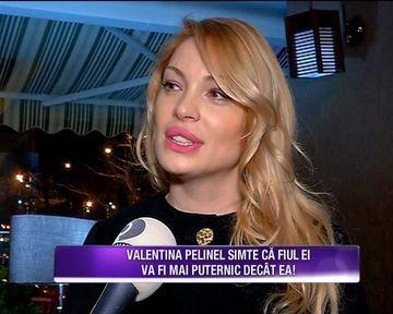 Uite de cate ori merge Valentina Pelinel, acum insarcinata in sapte luni! Frumoasa vedeta a dezvaluit cum reactioneaza cand vede stiri despre ea in ziare