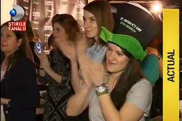 Nu se putea coincidenta mai nefericita pentru petrecaretii care au iesit sa-l celebreze pe Saint Patrick! Tinerii au cantat, au dansat si nu au mai fumat in club