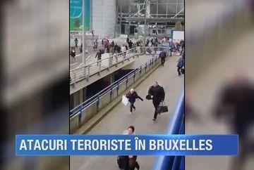 Atac terorist in inima Europei. Doua explozii puternice au zguduit aeroportul din Bruxelles si au lasat in urma cel putin 26 morti si 136 de raniti