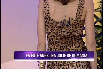 Ea e sosia Angelinei Jolie! Nu are nicio operatie estetica si seamana leit cu diva. Uite cine e tanara frumoasa, dar si desteapta
