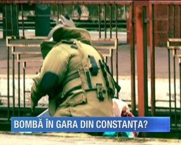 S-a instalat groaza in aceasta dimineata in gara din Constanta! Mai multe pachete suspecte au bagat spaima in calatori care au sunat imediat la 112