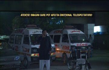 Macel in ziua de Paste! Un atac terorist cu zeci de morti si sute de raniti a indoliat Pakistanul
