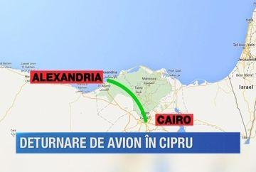 Stare de alerta maxima pe aeroportul din Larnaca! Un cetatean despre care se spune ca ar fi inarmat a deturnat un avion al unei companiei aeriene egiptene