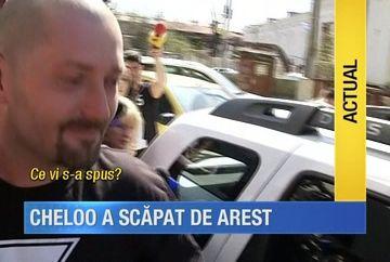 Cheloo a scapat de arest! Cantaretul a iesit din birorurile procurorilor si va fi cercetat sub control judiciar pentru trafic de droguri