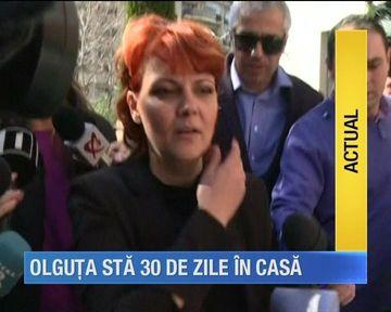 Judecatorii au decis sa o trimita pe Lia Olguta Vasilescu in arest la domiciliu!