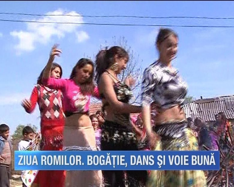 Ne asteapta un weekend plin de voie buna! Romii din intreaga tara sarbatoresc ziua lor nationala