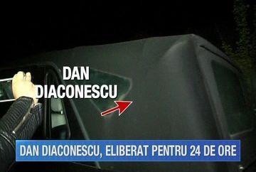Dan Diaconescu a fost eliberat din Penitenciarul Rahova pentru a participa la inmormantarea tatalui sau
