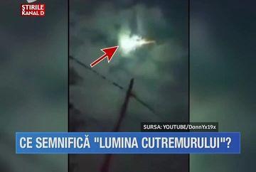 Aparitie misterioasa in timpul cutremurului devastator din Ecuador! O minge de foc a fost surprinsa pe cer chiar in timp ce pamantul se zguduia