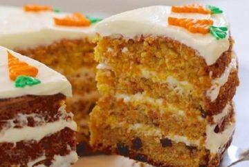 Tort de morcovi, pentru Paste! Reteta simpla, ieftina si delicoasa