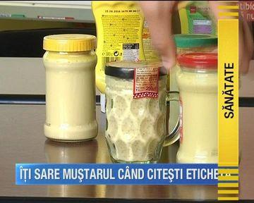 Ai idee din ce e facut mustarul sau maioneza din comert?! Iata o lista de ingrediente care te va pune pe ganduri