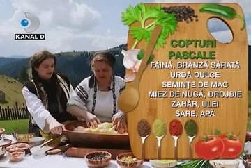 Cum arata pregatirile de Paste in familia bucovinencei cu chip de inger si voce de aur, Angelica Flutur, vedeti intr-o editie speciala TARA-N BUCATE!