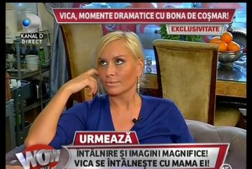 Vizita surpriza! Dupa ce a lasat-o pe Vica balta, bona de cosmar, Daniela, isi vrea jobul inapoi!